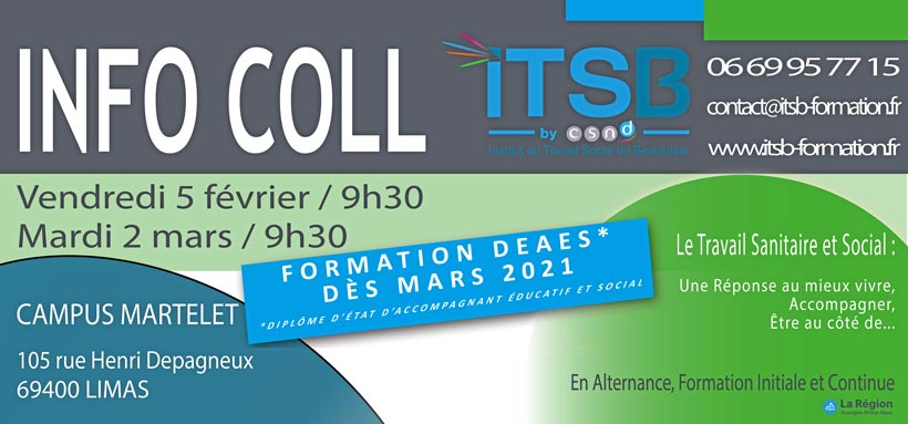 Formation DEAES en mars 2021